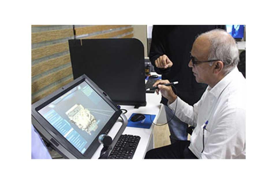 Mr. Babu Peter, V.P. GoAir experiencing Z-space